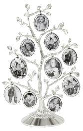 Fotoboom, fotolijst stamboom, verzilverd