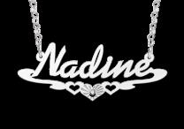 Naamketting model Nadine