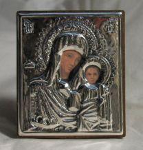 Zilveren Ikoon 5 x 5,5
