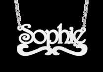 Naamketting model Sophie