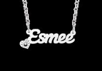 Naamketting model Esmee