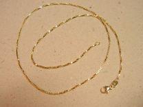 Doublé collier venetiaan 45 cm dikte 1,1 mm