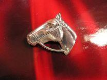 Paardehoofd broche