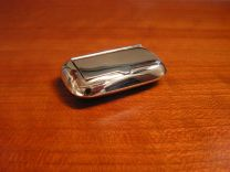 Zilveren doosje, mooi glad bruikbaar model