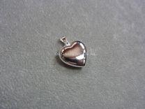 Hartje zilver 16 mm