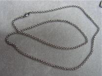 Stalen Jasseron ketting 3mm 60 cm