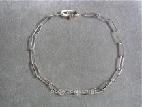 Closed forever zilver model 2 zonder tussen oog 19 cm