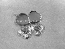 4 foto Medaillon hart 20 mm bewerkt