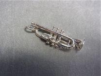 Trompet zilver groot