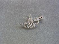 Trompet zilver klein