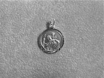 Christoffel médaille rond 14 mm