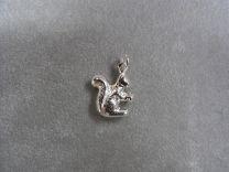 Eekhoorn zilveren bedeltje