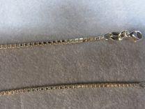 Doublé collier, model venetiaan 90 cm