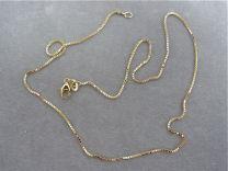 Doublé collier venetiaan 45 cm 0,9 mm dik