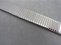 Horloge rekband Fix-O-Flex staal 20 mm