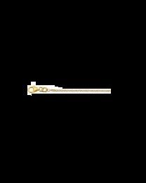 9 karaat gourmette collier 1,4 mm 45 cm