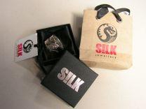 Silk Jewellery ring. Brahma 606