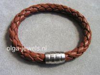 STRONG bruin 8 mm met magneetslot